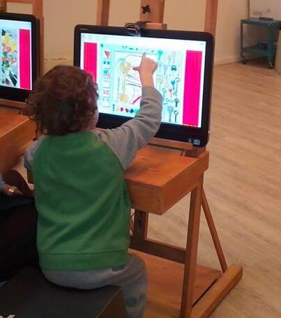יצירה לילדים מוזיאון הילדים חולון