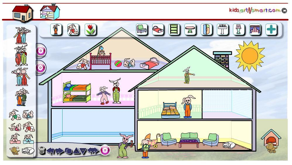 עיצוב בית בובות לילדים