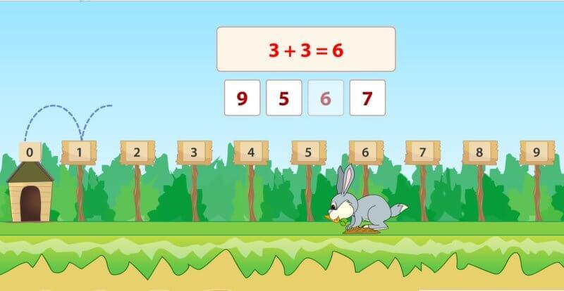 משחקי חשבון לכיתה א  |  משחקי חשבון לילדים בגן חובה