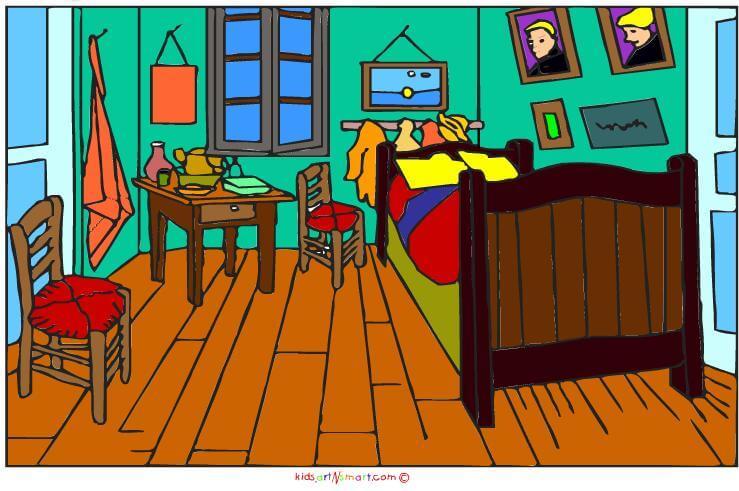 חדר השינה של ואן גוך