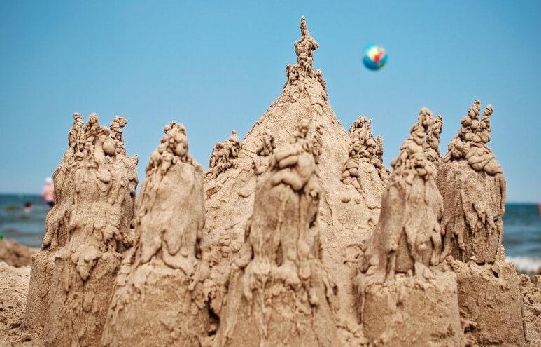artnsmart sand castle