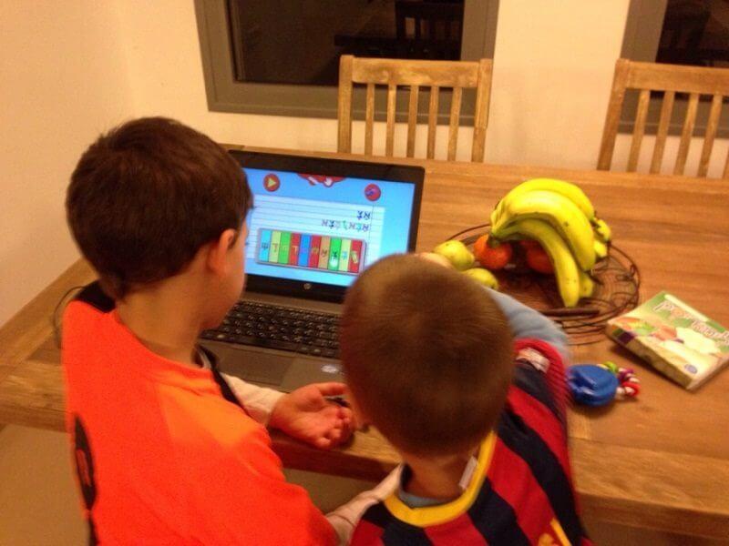 לימוד אותיות א ב | הרכשת קריאה